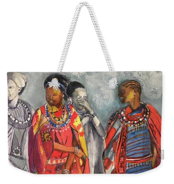 Masai Women Weekender Tote Bag