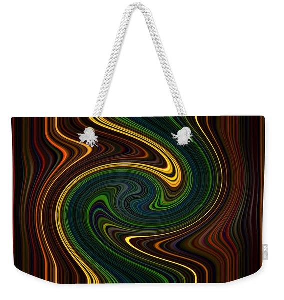 Masculine Waves Weekender Tote Bag