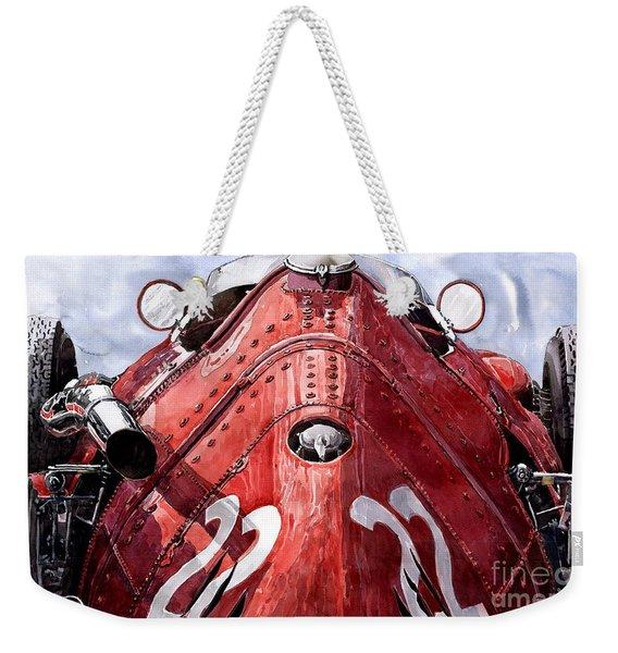 Maserati 250f Alien Weekender Tote Bag