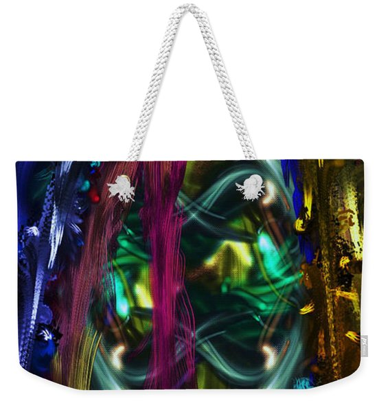 Mask Of The Spirit Guide Weekender Tote Bag
