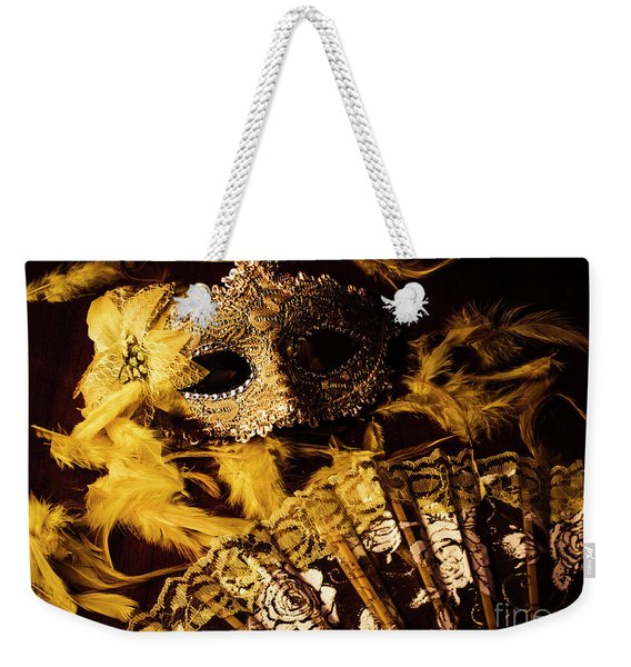 Mask Of Theatre Weekender Tote Bag