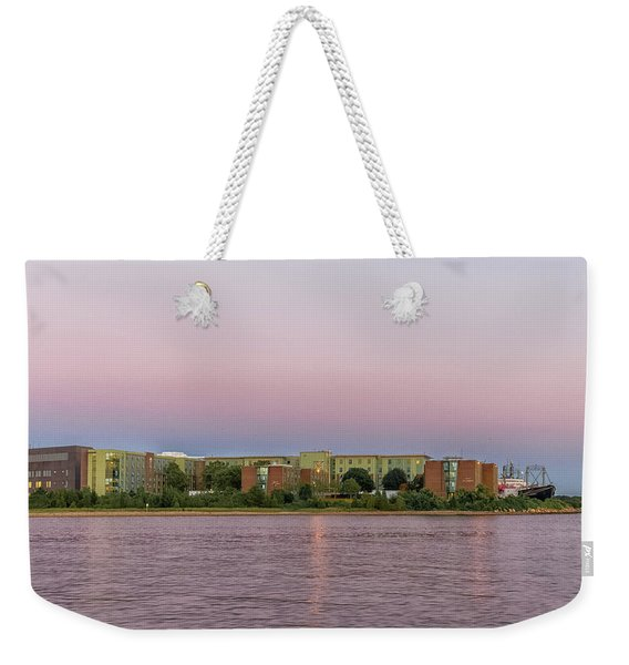 Massachusetts Maritime Academy At Sunset Weekender Tote Bag
