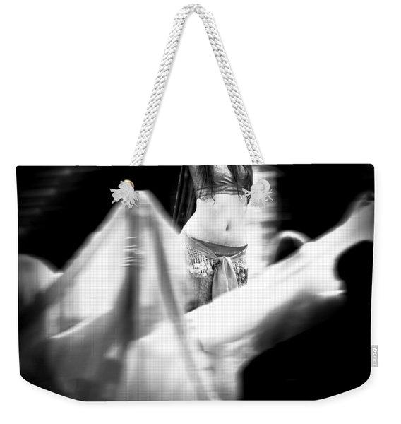 Mata Hari Weekender Tote Bag