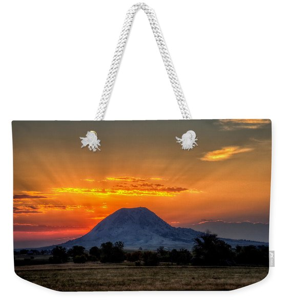 Mato Paha, The Sacred Mountain Weekender Tote Bag