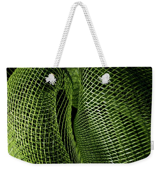 Matrix Weekender Tote Bag