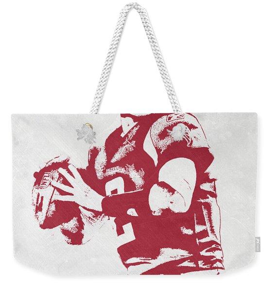 Matt Ryan Atlanta Falcons Pixel Art Weekender Tote Bag