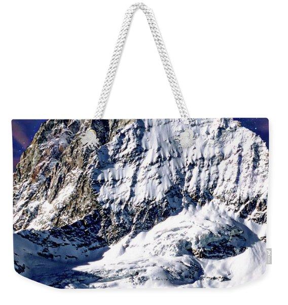 Matterhorn At Twilight Weekender Tote Bag