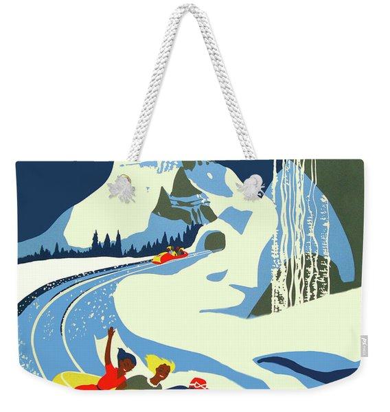 Matterhorn Bob Race Weekender Tote Bag