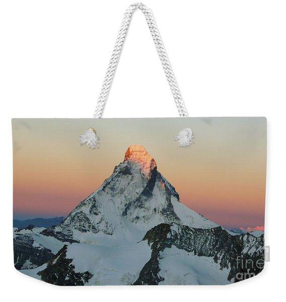 Matterhorn Dawn Weekender Tote Bag