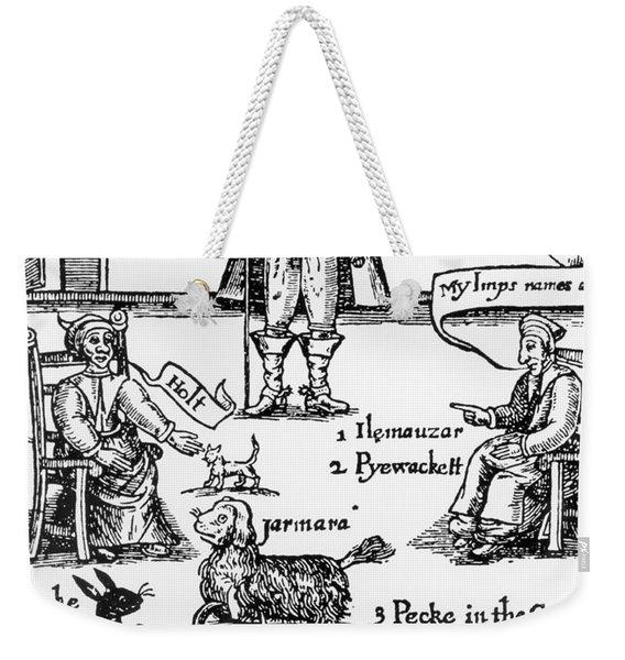 Matthew Hopkins, The Witchfinder General Weekender Tote Bag