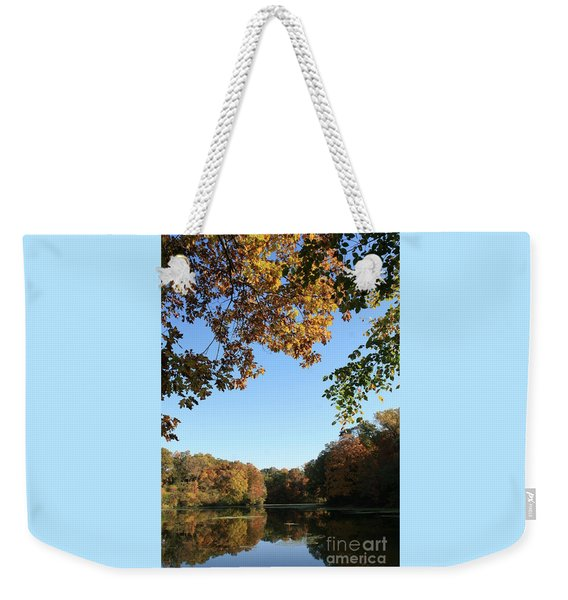 Matthiessen Lake In Autumn Weekender Tote Bag