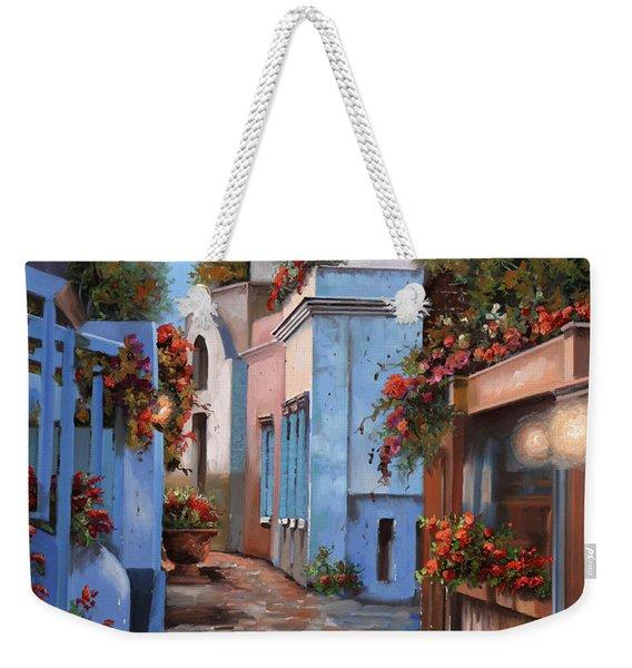 Mattina In Grecia Weekender Tote Bag