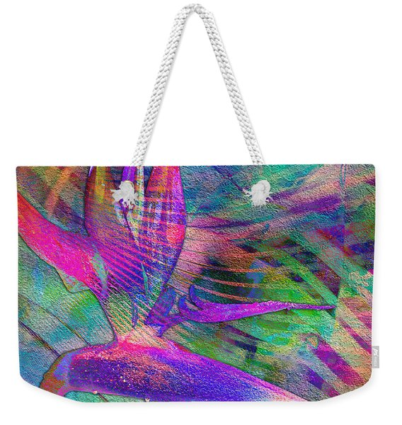 Maui Bird Of Paradise Weekender Tote Bag