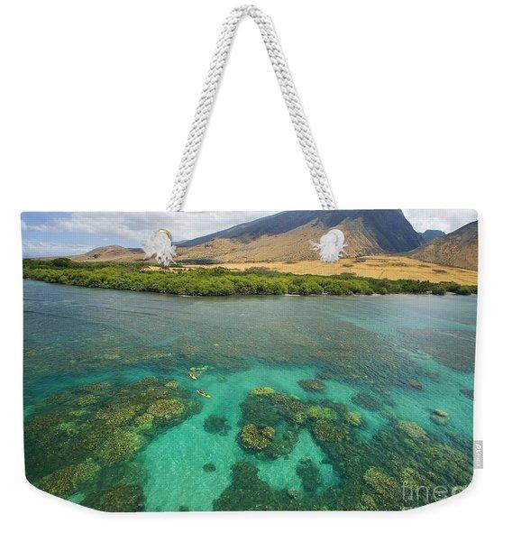 Maui Landscape Weekender Tote Bag