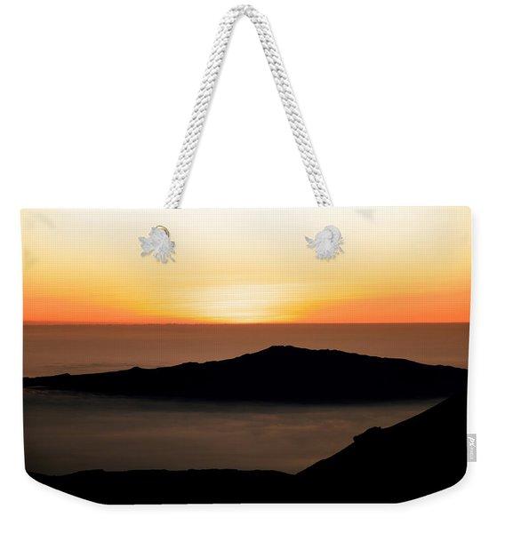 Mauna Kea Sunset Weekender Tote Bag