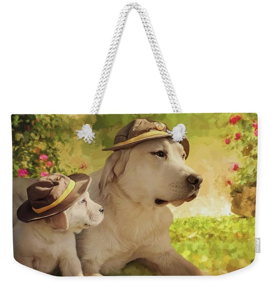 Maverick - Commissioned Weekender Tote Bag