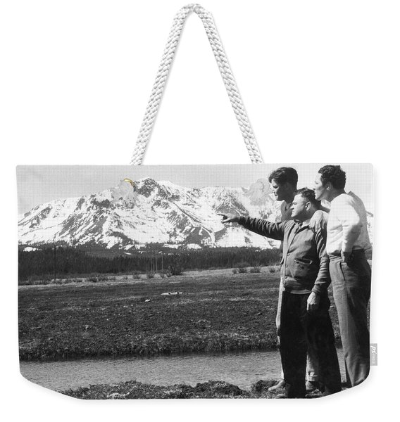 Max Baer At Lake Tahoe Weekender Tote Bag