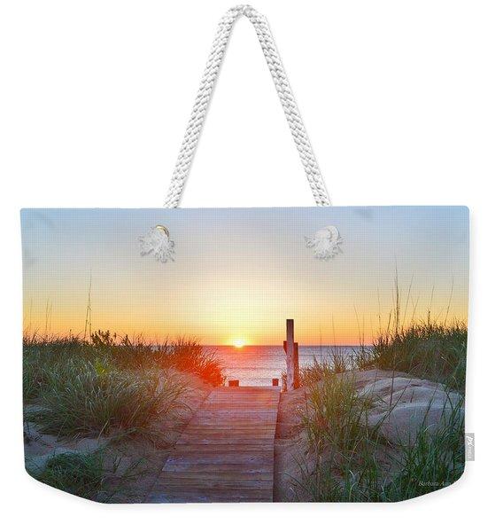 May 26, 2017 Sunrise Weekender Tote Bag