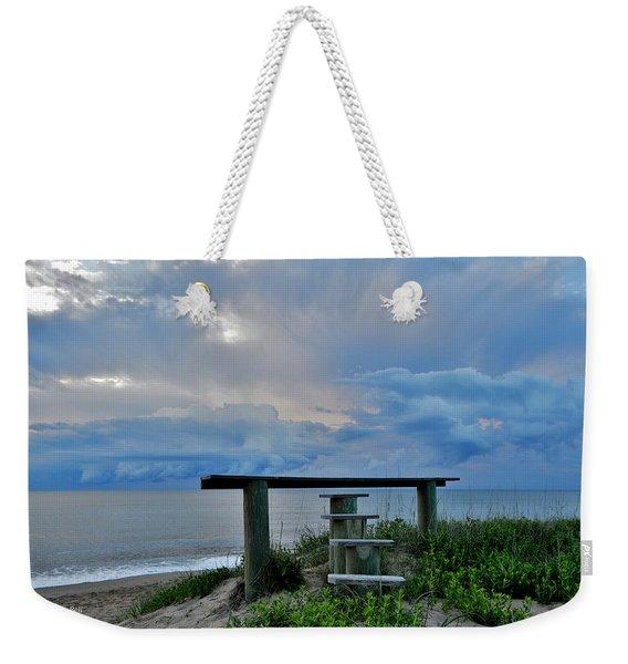 May 7th Sunrise Weekender Tote Bag