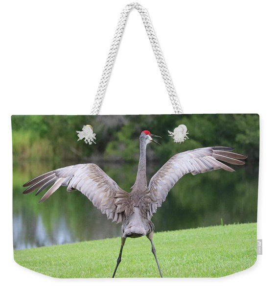 May I Have Your Attention Please Weekender Tote Bag