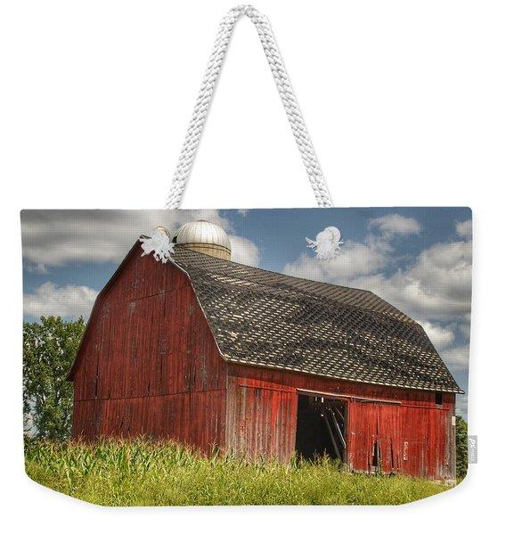 0023 - Mayville Red I Weekender Tote Bag