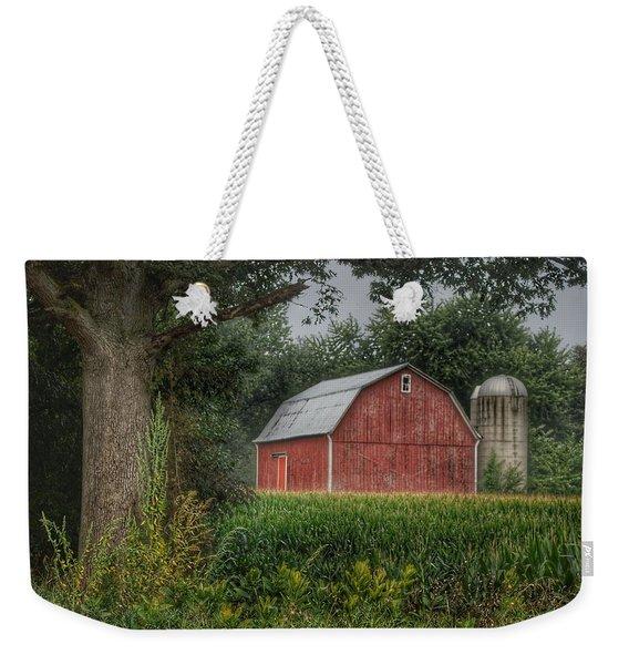 0027 - Mayville's Lapeer Road Red Weekender Tote Bag