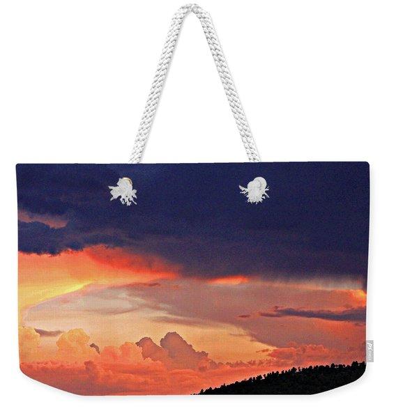 Mazatzal Peak Sunset Weekender Tote Bag
