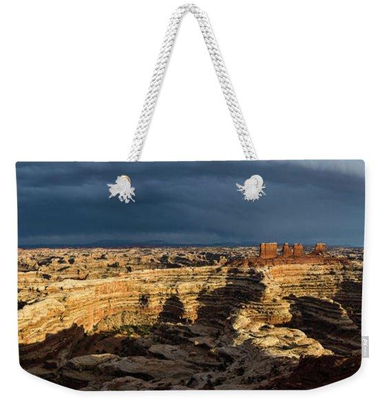 Maze Panorama Weekender Tote Bag