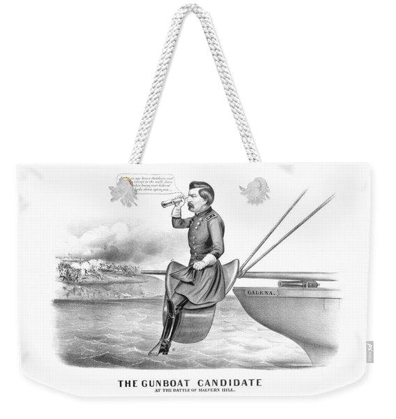 Mcclellan The Gunboat Candidate Weekender Tote Bag