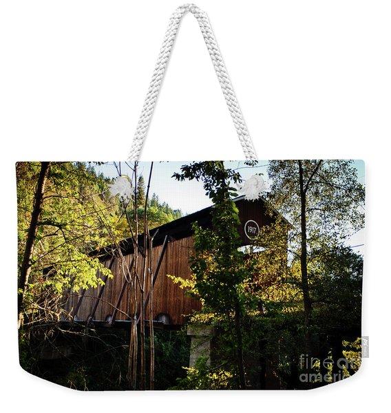 Mckee Bridge Weekender Tote Bag