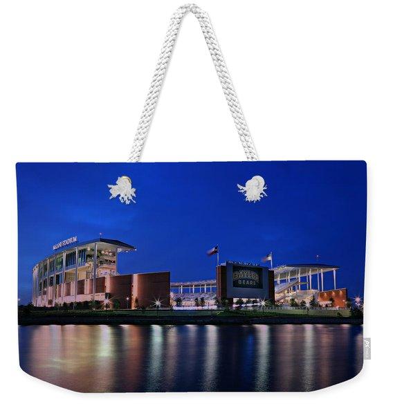 Mclane Stadium Evening Weekender Tote Bag
