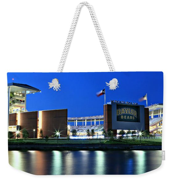 Mclane Stadium Panoramic Weekender Tote Bag