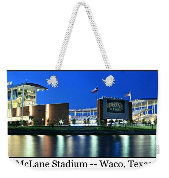 Mclane Stadium Print Weekender Tote Bag