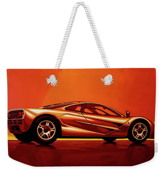 Mclaren F1 1994 Painting Weekender Tote Bag