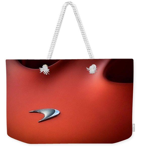 Mclaren P1 Weekender Tote Bag
