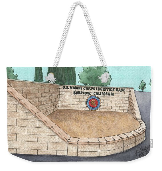 Mclb Barstow Welcome Weekender Tote Bag