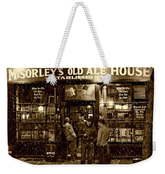 Mcsorley's Old Ale House Weekender Tote Bag