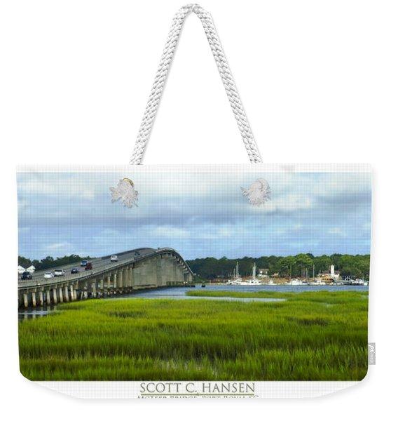 Mcteer Bridge Weekender Tote Bag