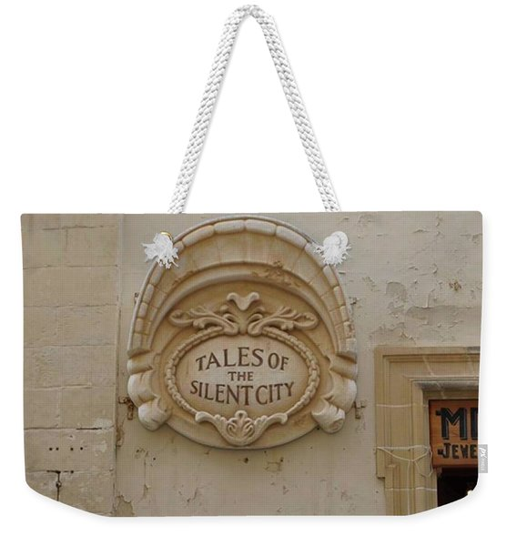 Mdina - The Silent City Weekender Tote Bag