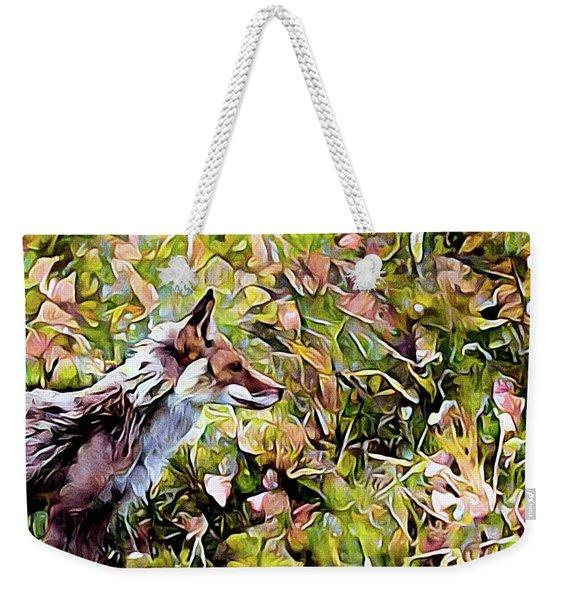 Meadow Fox Weekender Tote Bag