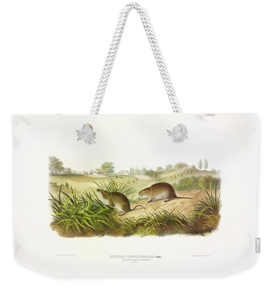 Meadow Mouse Weekender Tote Bag