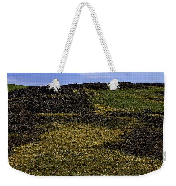 Meadow Of Golden Flowers Weekender Tote Bag