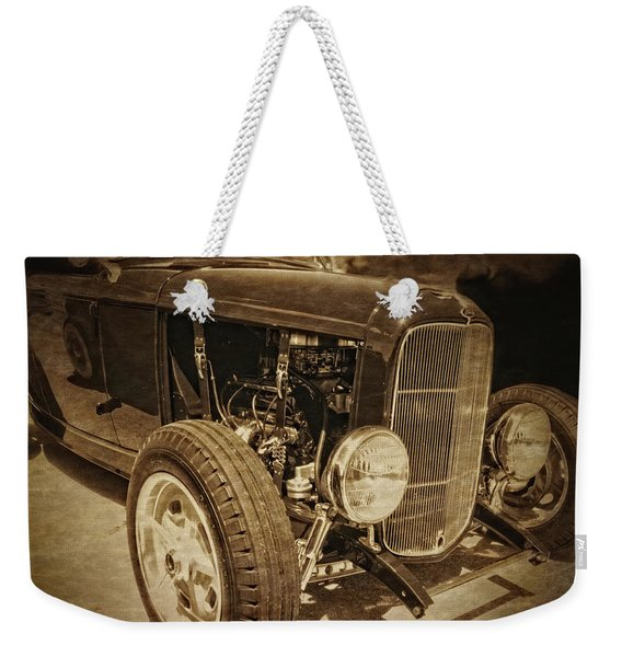 Mean Roadster Weekender Tote Bag