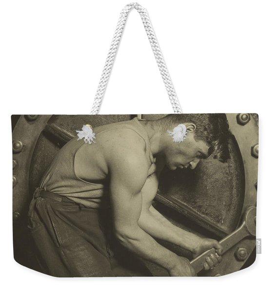 Mechanic And Steam Pump Weekender Tote Bag