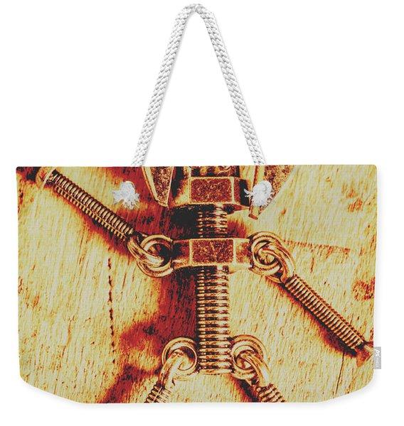 Mechanical Nut  Weekender Tote Bag