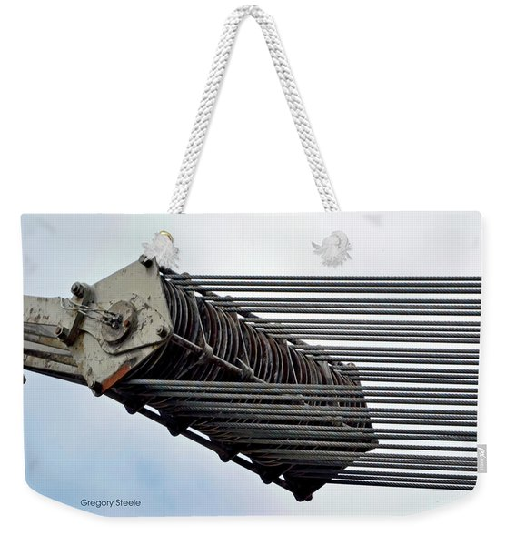 Mechanical Ship Pulley Weekender Tote Bag