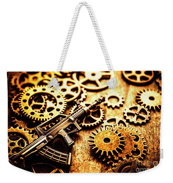 Mechanised Warfare Weekender Tote Bag