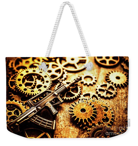 Mechanised Warfare Weekender Tote Bag