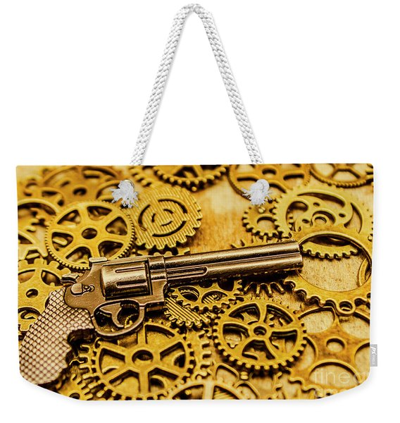 Mechanisms Of The Wild West  Weekender Tote Bag
