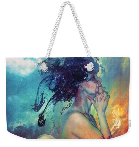 Medea Weekender Tote Bag